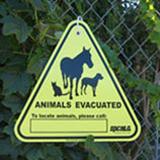 Animals Evacuated