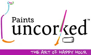 Paints Uncorked Logo