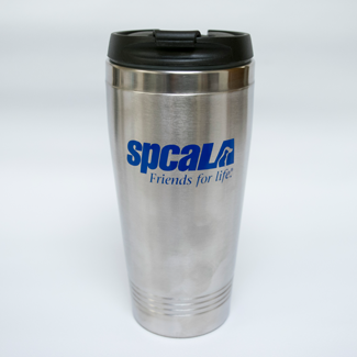 spcaLA travel mug