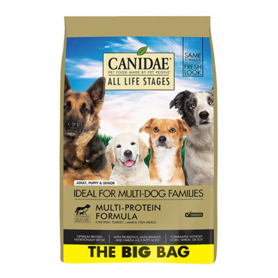 Canidae Dry Dog Food All Life Stages Multi-Protein Formula 44lb