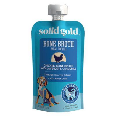 Solid Gold Dog Bone Broth Chicken with Lavender & Chamomile 8oz