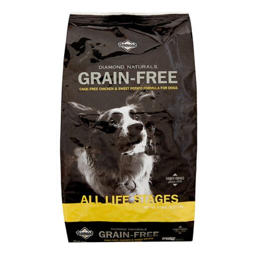 Diamond Naturals Grain-Free Chicken & Sweet Potato Formula Dry Dog Food 5 LB