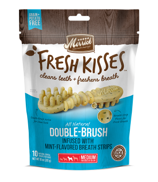 fresh kisses medium dog strips