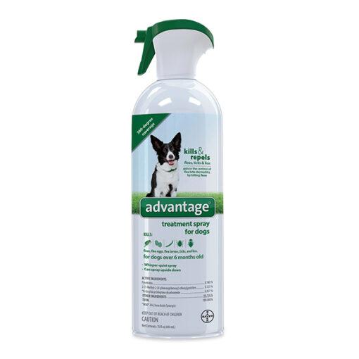 Advantage Treatment Spray for Dogs 8oz