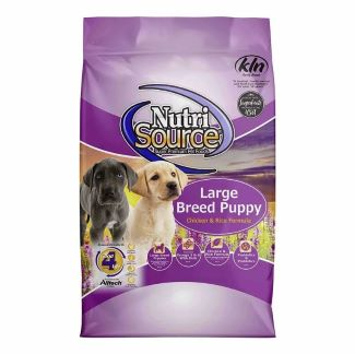 large breed puppy food bag