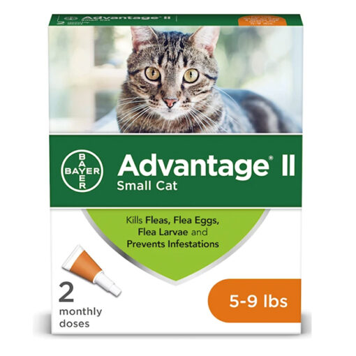Advantage II for Cats 5 9lbs 2 Pack