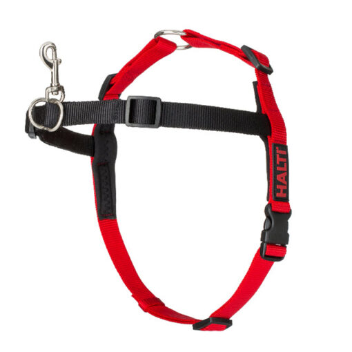 Red HALTI Front Control Harness Small