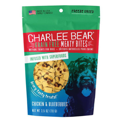Charlee Bear Meaty Bites Chicken w Blueberries