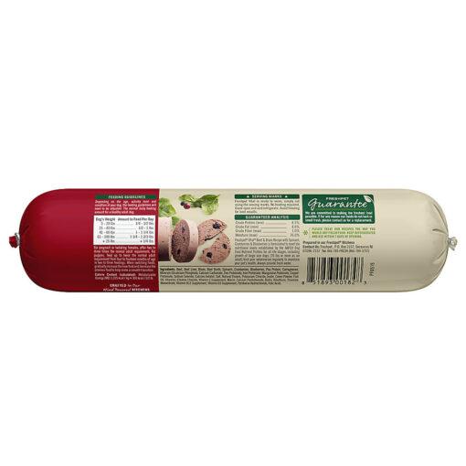 Freshpet Vital Grain Free Beef Bison Adult Dog Food 1lb Back