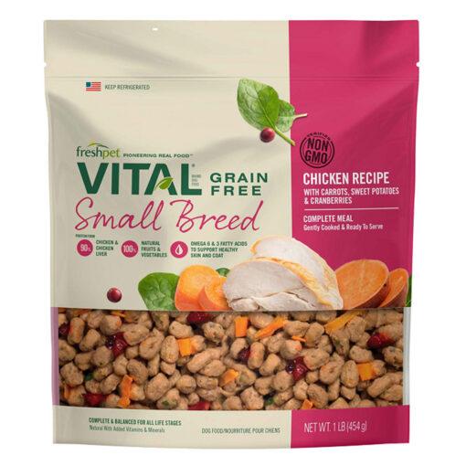 Freshpet Vital Grain-Free Chicken Small Breed Dog Food