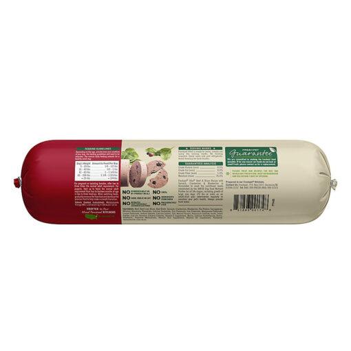 Freshpet VitalGrain Free Beef & Bison Adult Dog Food 2 LB Back