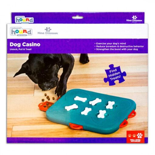 Outward Hound Casino Puzzle Dog Toy Large Box