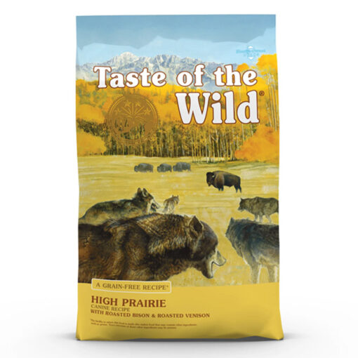 Taste of the Wild High Prairie Grain-Free Roasted Bison & Venison Dry Dog Food, 28 lbs.