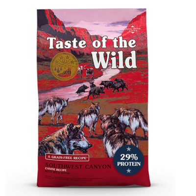 Taste of the Wild Southwest Canyon Grain-Free Wild Boar Dry Dog Food, 28 lbs.