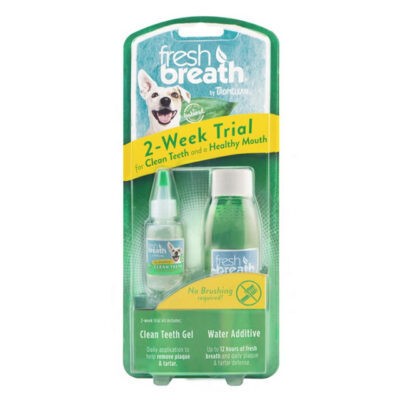 TropiClean Fresh Breath Dog Dental Trial Kit