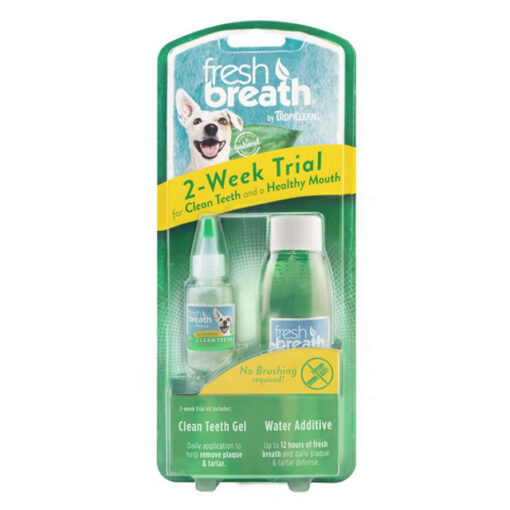 TropiClean Fresh Breath Dog Dental Trial Kit
