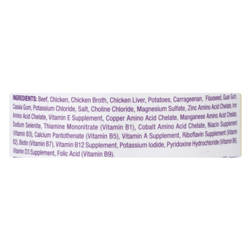 Blue Buffalo Blue Wilderness Dog Natural Beef & Chicken Grill Can 12-5oz Ingredients