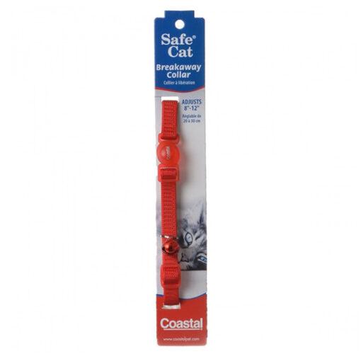Coastal Pet Safe Cat Breakaway Collar 8-12 Front Red