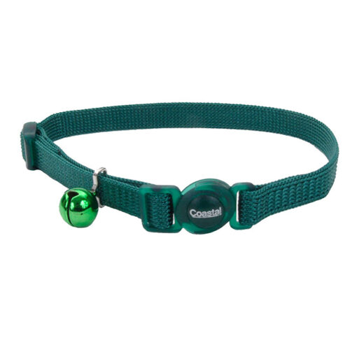 Coastal Pet Safe Cat Breakaway Collar 8-12 H Green