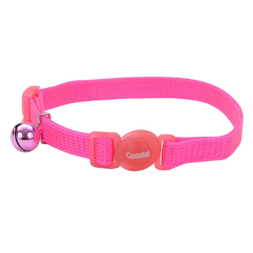 Coastal Pet Safe Cat Breakaway Collar 8-12 N Pink