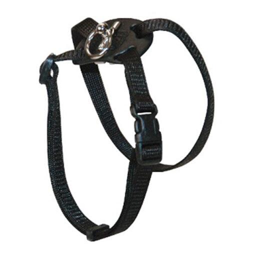 Coastal Pet Size Right Nylon Adjustable Cat Harness Black Size 12-18