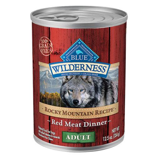 Blue Buffalo Wilderness Rocky Mountain Recipe Grain Free Adult Dog Food