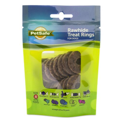PetSafe Natural Rawhide Treat Ring Refills Size A