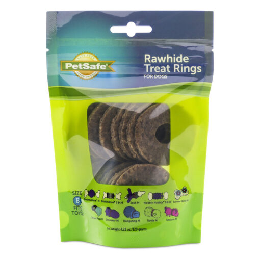 PetSafe Natural Rawhide Treat Ring Refills Size B