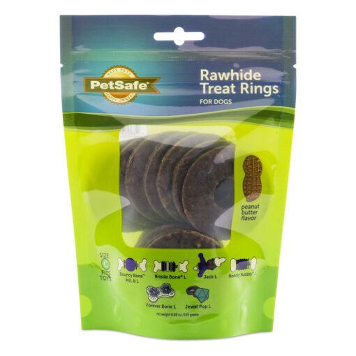 PetSafe Natural Rawhide Treat Ring Refills Size C
