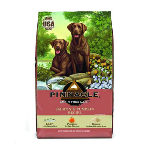 Pinnacle Salmon & Pumpkin Recipe Grain-Free Dry Dog Food 24lb Front