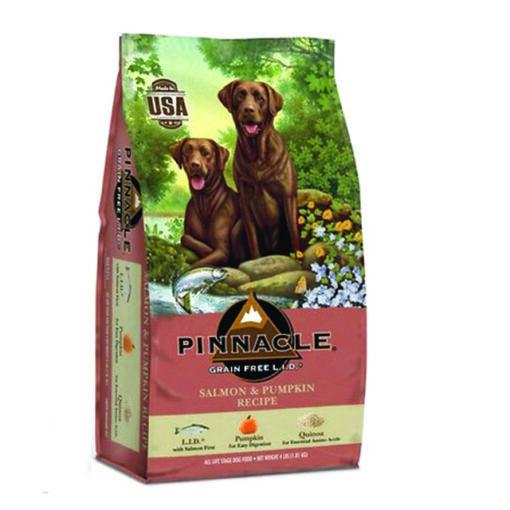 Pinnacle Salmon & Pumpkin Recipe Grain-Free Dry Dog Food 4lb Front