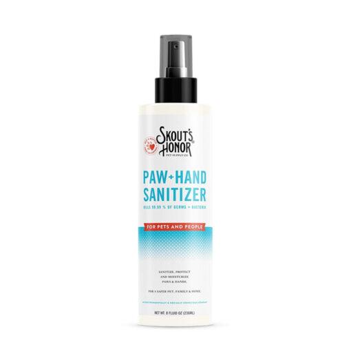 Skout's Honor Paw + Hand Sanitizer Spray 8 oz
