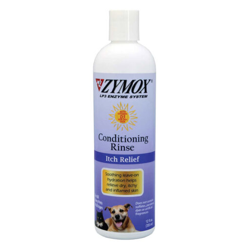 Zymox Conditioning Rinse for Dogs and Cats 12oz