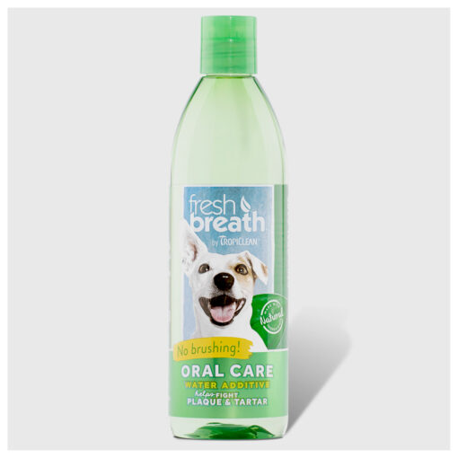 Fresh Breath by TropiClean Oral Care Water Additive for Dogs 16oz