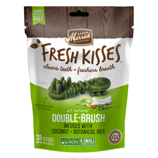 Fresh Kisses Coconut Oil For Small Dogs (15-25lbs) 33 count