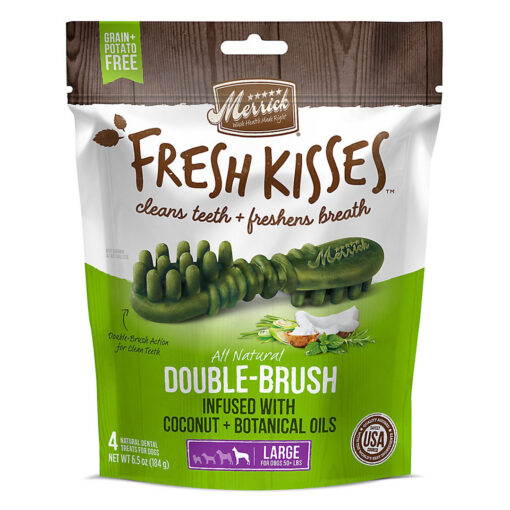 Fresh Kisses Coconut Oil Large Dogs 50LBS 4count