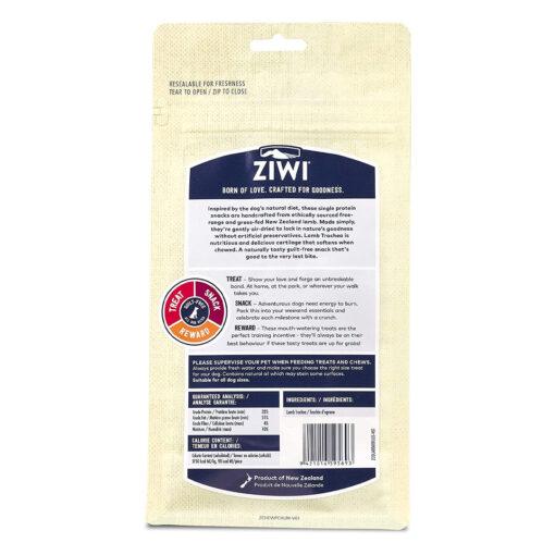 Ziwi Lamb Trachea Dog Chews 2.1oz back