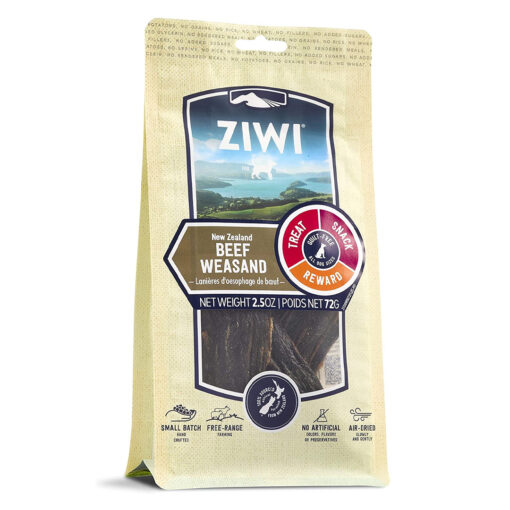 Ziwi Oral Health Air-Dried Beef Weasand Dog Chews 2.5oz