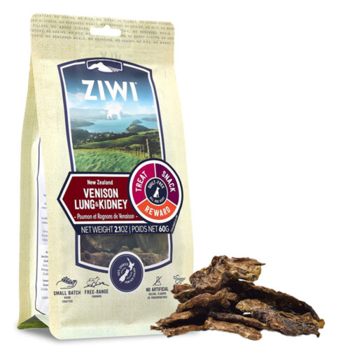 Ziwi Vension Lung & Kidney Dog Treats 2.1oz