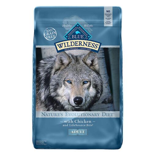 Blue Buffalo Wilderness Adult Dog Food 24LB