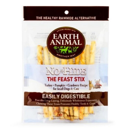 Earth Animal No-Hide, The Feast Stix 10 PK