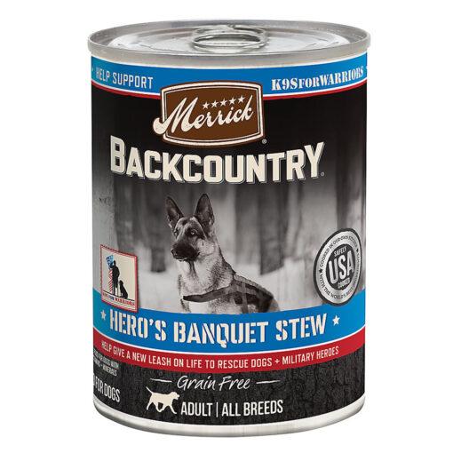 Merrick Backcountry Hero's Banquet Stew 12.7OZ