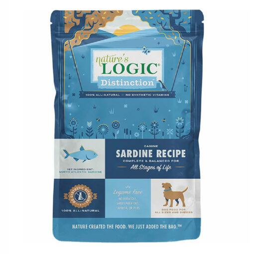 Nature's Logic Distinction Sardine Recipe Dry Dog Food 4.4LB