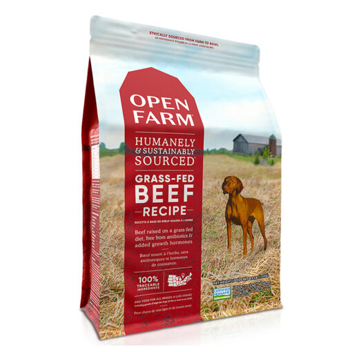 Open Farm Grass-Fed Beef Dry Dog Food 4.5LB