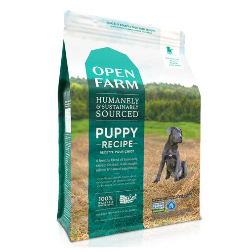 Open Farm Puppy Recipe Dry Dog Food 4.5 LB