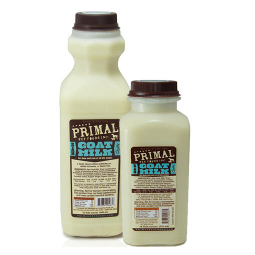 Primal Goats Milk for Dogs and Cats